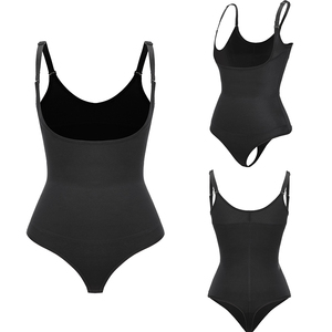 Image 4 - Latex Full Body Shaper Taille Trainer Glad Lift Underbust Afslanken Ondergoed Body Shapewear Tummy Trimmer Vrouwen Corset