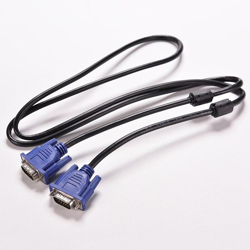 1 шт. 1,5 м 5FT 15 PIN VGA HDB15 супер VGA SVGA м/м Разъем «Папа-папа» кабель удлинитель мониторы для ПК ТВ