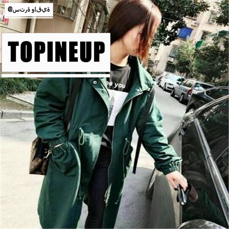 2019 Trench Coat Spring and Autumn Women Causal Coat Long Sleeve Solid Color Female Moda Muje High Quality Hoodie Windbreaker