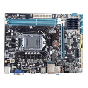 Материнская плата H55 LGA1156 для настольного компьютера, профессиональные стабильные аксессуары для ЦП, память DDR3, поддержка платы управления ...