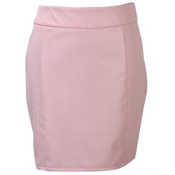 Fashion Women Leather Skirt Female Solid Bodycon Slim Pencil Short Mini Skirt Ladies Zipper High Waist Skirt Tight Clubwear 8