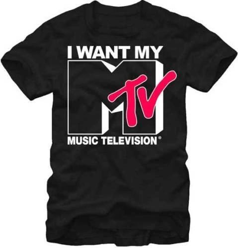 New I Want My MTV Men T-Shirt S-3XL