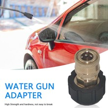 1/4 3/8 Quick Connect Female To M22 14 15 Female Connector Adapter For Pressure Washer Water Gun Telescoping Connector