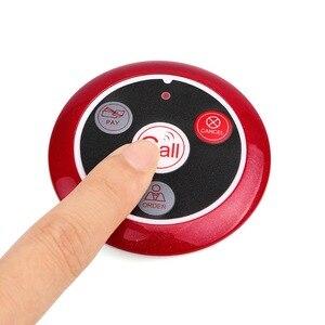 Image 4 - Retekess buscapersonas inalámbrico para restaurante, llamada de camarero, botón de llamada T117, 4 Uds., reloj receptor TD108, receptor, repetidor de señal, 40 Uds.