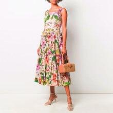 Gedivoen модное дизайнерское летнее платье для женщин на бретельках