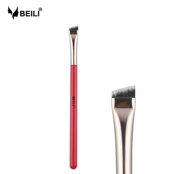 BEILI 1piece Professional Brow Makeup Brushes Eyeliner Wing liner Eyebrow brush 1