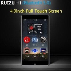 Image 2 - Nieuwste Ruizu H1 4.0 Inch Full Touch Screen MP3 Speler Bluetooth 8 Gb Muziekspeler Met Ingebouwde Luidspreker Ondersteuning Fm radio Opname