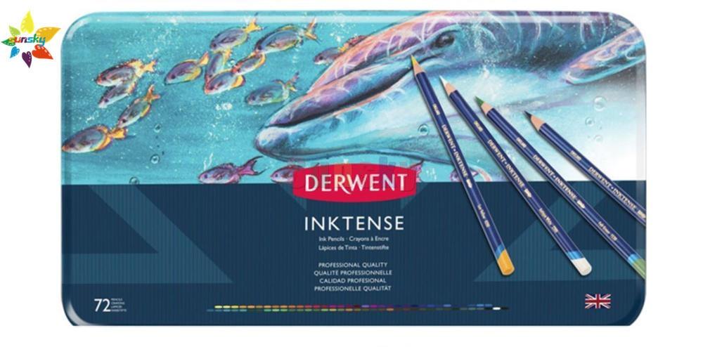 12/24/36/72 не токсична профессиональная inktense Цвет Карандаши цветные карандаши для рисования комплект, принадлежности для живописи для каранда...