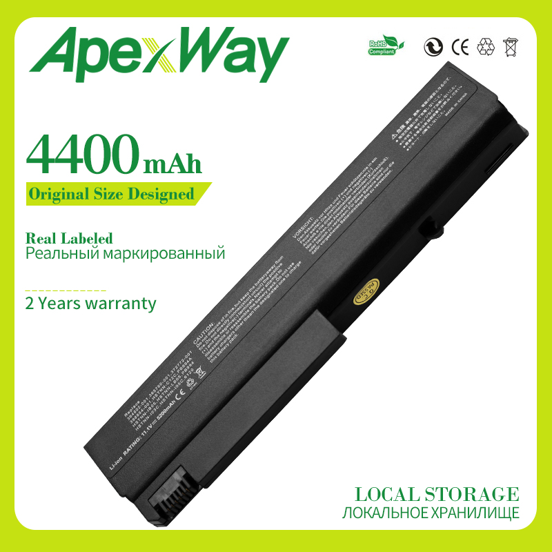 Apexway Laptop Battery for <font><b>Hp</b></font> Compaq 6910p <font><b>6510b</b></font> 6515b 6710b 6710s 6715b 6715s NC6100 NC6105 NC6110 NC6115 NC6120 image
