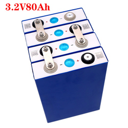 2020 NEW 4PCS 3.2V 80Ah lifepo4 battery CELL not 100ah 12V80Ah for EV RV battery pack diy solar EU US TAX FREE UPS or FedEx