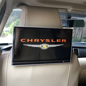 12.5inch Car 4K 1080P Screen Android 9.0 Headrest Monitor With HDMI Bluetooth For Chrysler Grand Voyager 300C Grand Voyager PHEV(China)