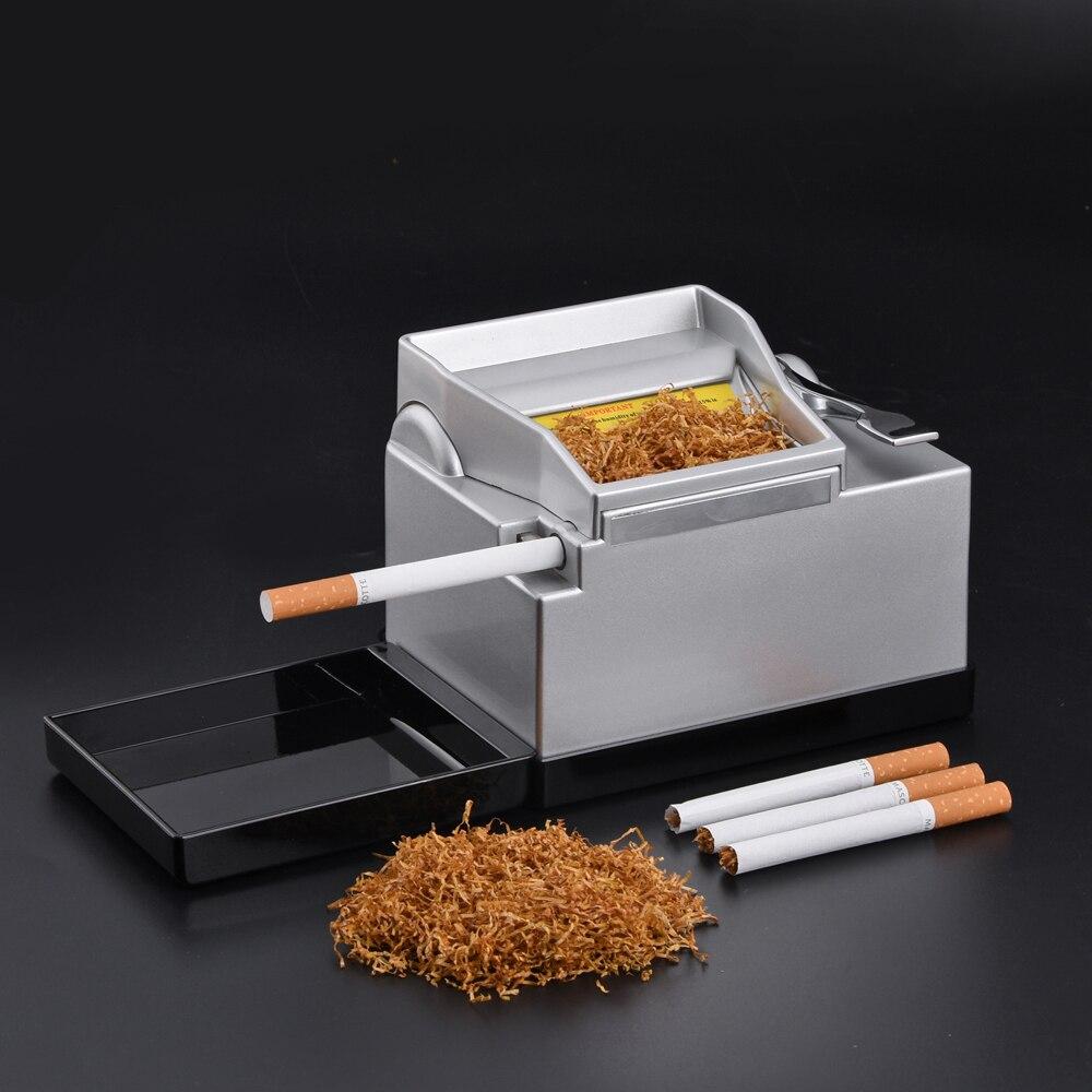 Домашняя электрическая автоматическая машинка для скручивания сигарет, электронные гаджеты, трубка для впрыска табака 8 мм, Рождественский