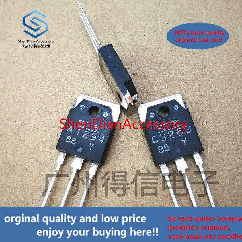 1pairs 100% Orginal New 2SC3263 2SA1294 1294 3263  Real Photo