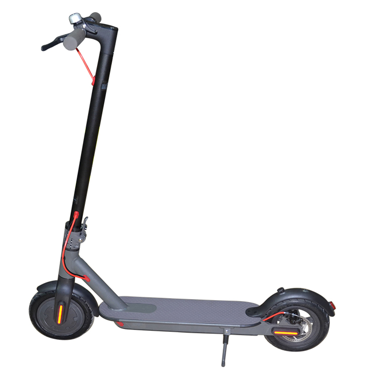 two wheel foldable 8.5inch <font><b>electric</b></font> <font><b>scooter</b></font> with APP LED dispaly lithium battery aluminium materials 36V <font><b>250W</b></font> brushless motor image