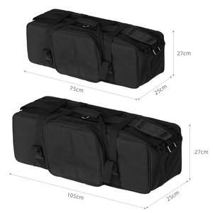 Image 3 - ポータブルキャリーバッグスタジオフラッシュライト & 三脚ライトスタンド用キャリーバッグ写真スタジオフラッシュバッグキット