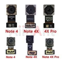 מקורי קטן מצלמה קדמית להגמיש עבור Xiaomi Mi Redmi הערה 4 4A 4X פרו הגלובלי עיקרי גדול חזור אחורי מצלמה להגמיש כבל