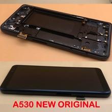 NEUE OEM SUPER AMOLED 5.6 Display für SAMSUNG Galaxy A8 2018 LCD A530 A530F A530DS A530N LCD Bildschirm Touch digitizer Montage