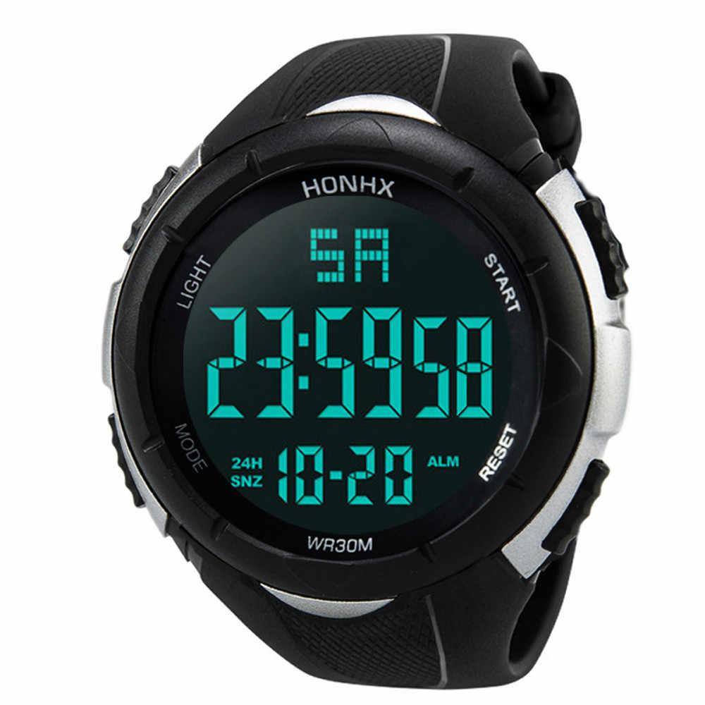 시계 남자 relogio masculino 자동 시계 디지털 시계 학생 커플 세련된 첨탑 유리 벨트 쿼츠 시계 zegarki lige # n18