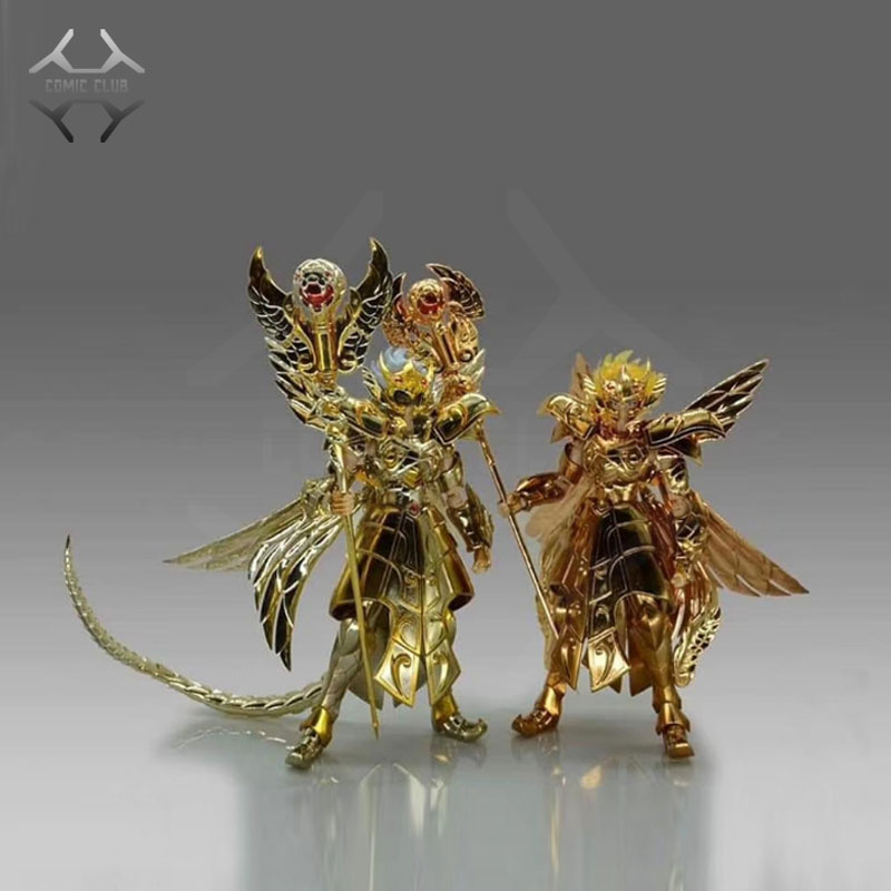 COMIC CLUB IN-STOCK JMODEL The 13th Gold Saint Odysseus Ophiuchus Metal Armor EX Action Figure