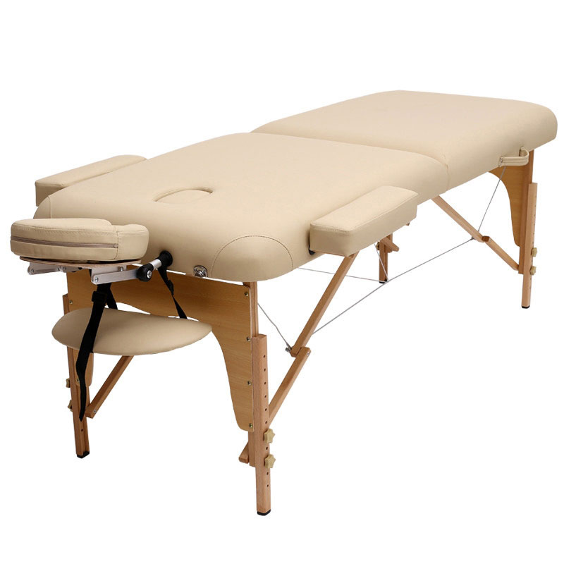 Folding Massage Table Beauty Bed Portable Massage Table Nursing Bed SPA Tuina Bed Household Moxibustion Bed Beauty Salons