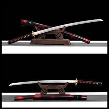 Épée de samouraï japonais faite à la main, Katana, Dragon prêt pour la bataille