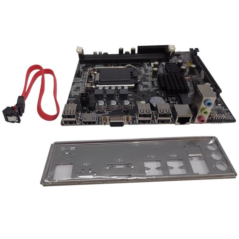 H81 Motherboard Ddr3 Memory Lga1150Cpu Desktop Computer Motherboard Lga1150 Motherboard