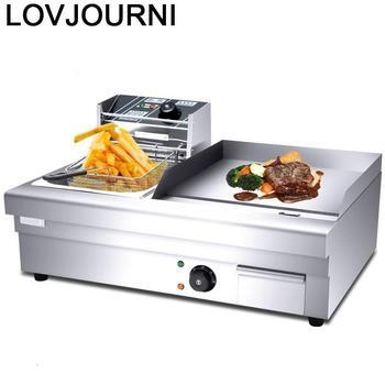 Máquina Mangal Izgara Rotisserie De Barbacoa Portatiles Parrilla eléctrica Kebab Parrilla comercial...