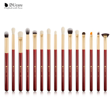 DUcare Makeup brushes set professional 15pcs/lot Brushes Set Eye Shadow Blending Eyeliner Eyelash Eyebrow Brush