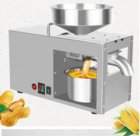 Automatic intelligent Stainless steel home oil press cold oil machine Sesame peanut flax seed oil extraction