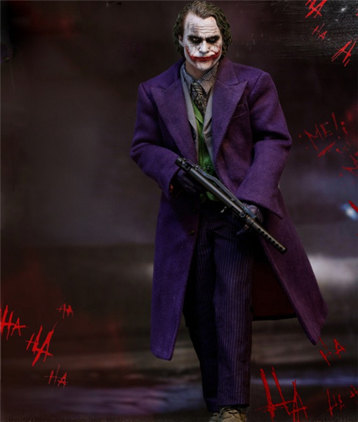 Movie DC Joker In Movie Batman Joints Moveable Action Figure PVC Collectible Model Toys