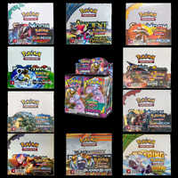 324PCS/SET Pokemon TCG English Edition Card Energy Card Prop Card Pikamon Pokemon Lost Thunder Supplement Pack Kids Toy Gift