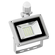 20W LED Flood Light SMD PIR Motion Sensor Outdoor Floodlights AC 220-240V 800-900LM 5730 SMD LEDS