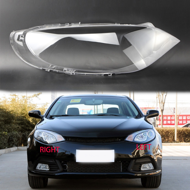 for MG 6 2010-2015 lens lampshade Transparent headlight housing Headlight lampshade Headlight protective shell Lamp Hoods 2 pcs