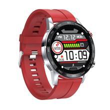 L16 inteligentne zegarki IP68 wodoodporne tętno ciśnienie krwi monitorowanie tlenu we krwi PPG + monitorowanie ekg wielojęzyczny zegarek tanie tanio centechia CN (pochodzenie) Brak Na nadgarstku Wszystko kompatybilny 128 MB Passometer Fitness tracker Uśpienia tracker