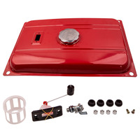 18.9L 5 Gallon Generator Gas Tank Fuel Filter Cap Gauge Petcock For EC2500 Red