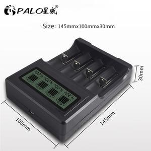 Image 5 - 4 slots Multifunction smart fast 3.7V 18650 charger for 3.7V lithium 14500 16340 18500 18650 17500 22650 26650 models battery
