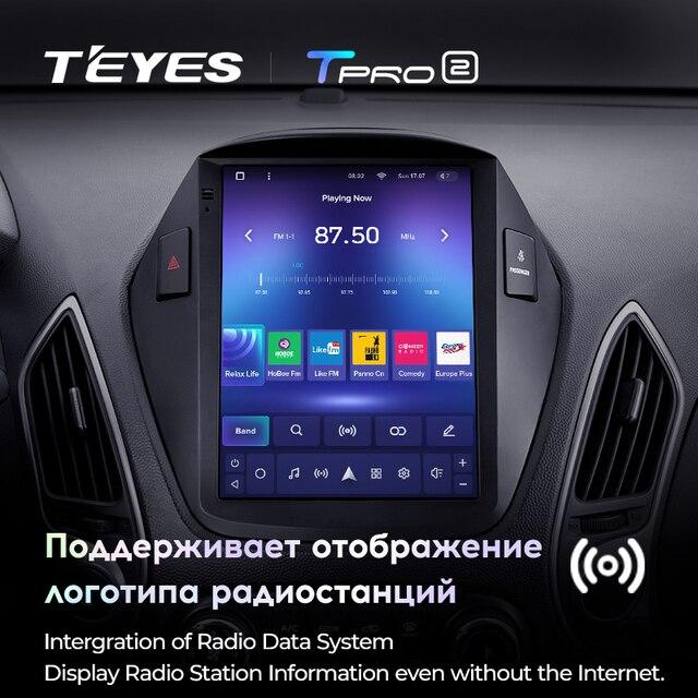 TEYES TPRO 2 Штатная магнитола For Хендай Туксон 2 LM For Hyundai Tucson 2 IX35 2009 - 2015 For Tesla style screen For Тесла Стиль Экран Android 2DIN автомагнитола 2 DIN GPS мультимедиа автомобиля головное устройство 3