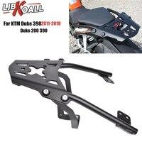 For KTM Duke 125 200 390 2011 2019 Motorcycle Parts Rear Luggage Rack Carrier Top Mount Fender Bracket Shelf 2015 2016 2017 2018