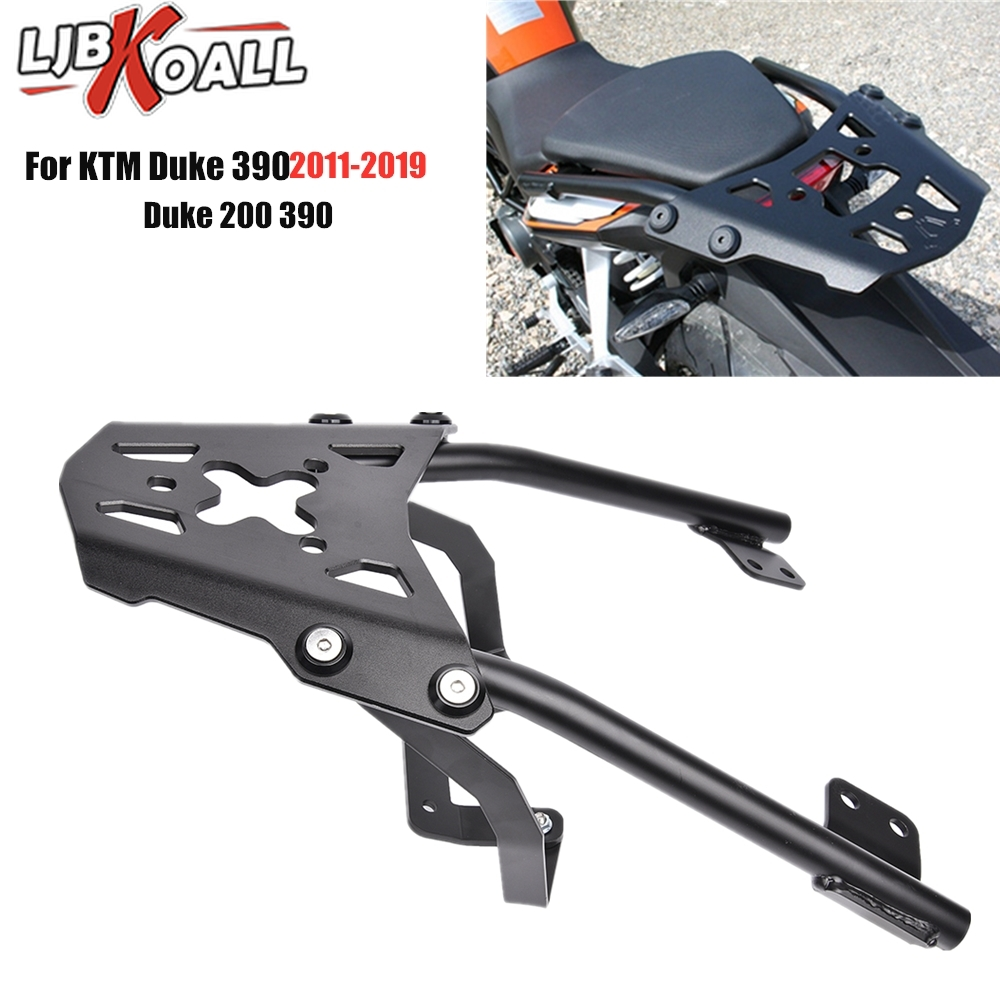 For KTM Duke 125 200 390 2011-2019 Motorcycle Parts Rear Luggage Rack Carrier Top Mount Fender Bracket Shelf 2015 2016 2017 2018 image
