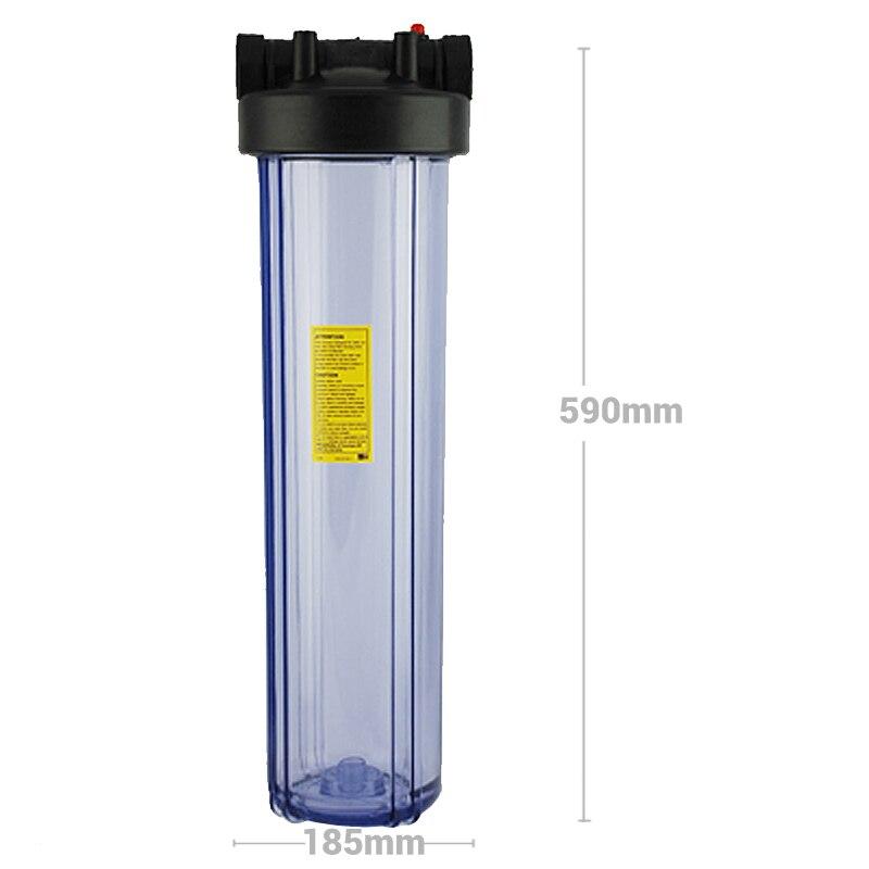 """20/"""" Filtro a Pieghe sedimenti d/'acqua 5 Micron Big Blue osmosi inversa filtrazione"""