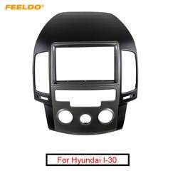 FEELDO автомобиля 2Din Радио Фризовая рамка для hyundai I-30 2009 руководство AC LHD Корейский стерео лицо Панель Даш отделка комплект