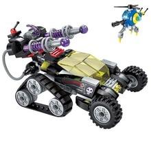 Toy Educational-Bricks Magnetic Enlighten Building-Block High-Tech Storm 2-Figures Era