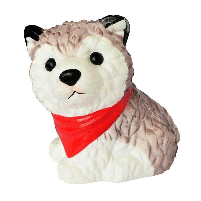 Divertido antiestrés manos pellizcar juguetes blandos de aumento lento para niños Jumbo Kawaii blanquitos de regalo de animales blandos Husky niños juguetes perro Máscaras reutilizables divertidas de moda de 182
