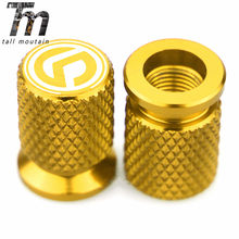 Motorcycle Tire Valve Air Port Stem Cover Cap Plug CNC Aluminum Accessories for SYM MIO FIDDLE JOYMAX FNX CROX SYMPHONY TONIK(China)