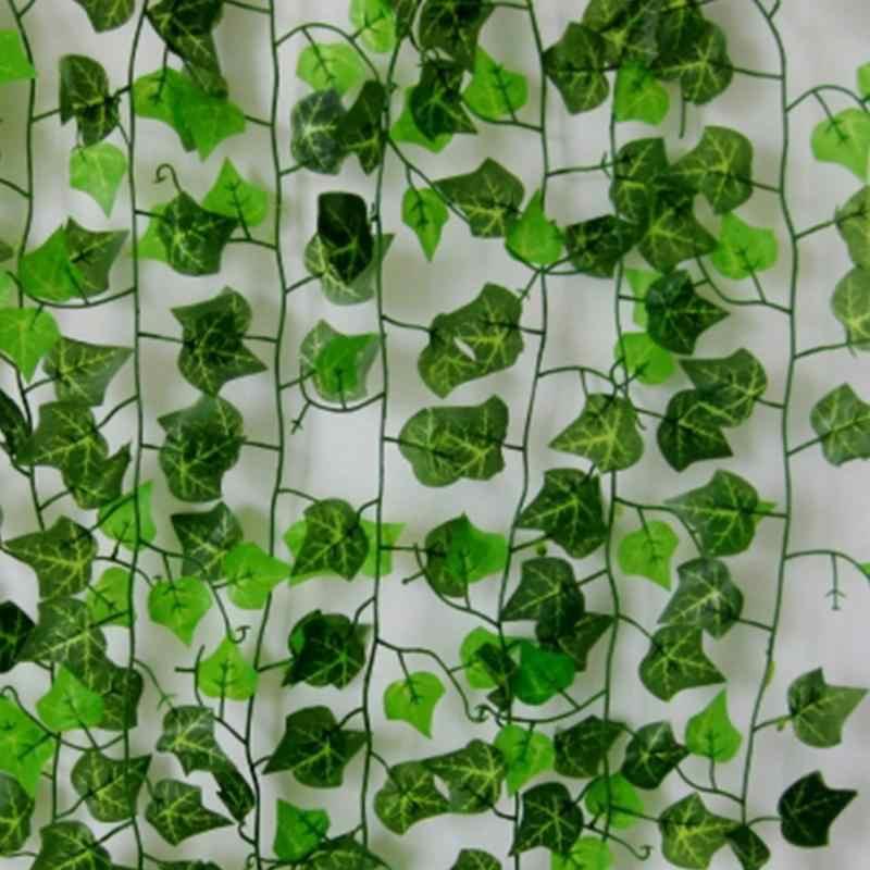 2,5 м искусственный зеленый Плющ виноградный лист поддельные гирлянды растительная листва домашний фестиваль свадебные украшения #734