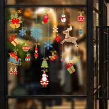 2020 Merry Christmas Wall Stickers Window Glass Festival Wall Decals Santa Murals New Year Christmas Decorations for Home Decor 2020 merry christmas wall stickers window glass festival wall decals santa murals new year christmas decorations for home decor