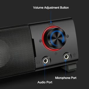 Image 5 - Redragon GS550 aux 3.5mm stereo surround music smart speakers column sound bar for the computer PC home notebook TV loudspeakers