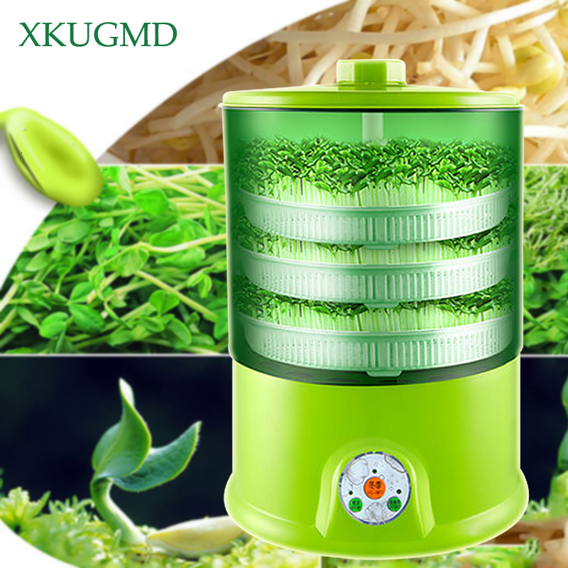 Planting Bean Sprouts Machine Home Intelligent Large Capacity Germination Automatic Planter Nursery Pot Planting Tool