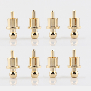 Image 1 - RCA غطاء حامي الغبار واقية مطلية بالذهب الضوضاء سدادة التدريع قبعات