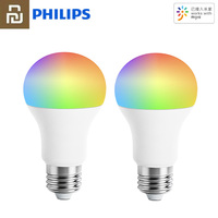 Lampadina originale Youpin Philips Smart 220 - 240V E27 luce colorata Wifi Mi Home APP telecomando lampada a LED lampadina a sfera intelligente